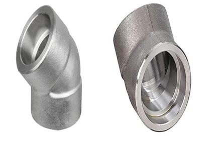 Alloy Steel Gr F22 45 Degree Socket Weld Elbow